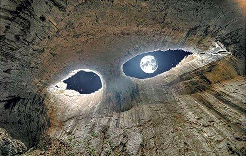 Prohodna cave, God&#39-s eyes - Birds Photographer - Nikolay Staykov ...