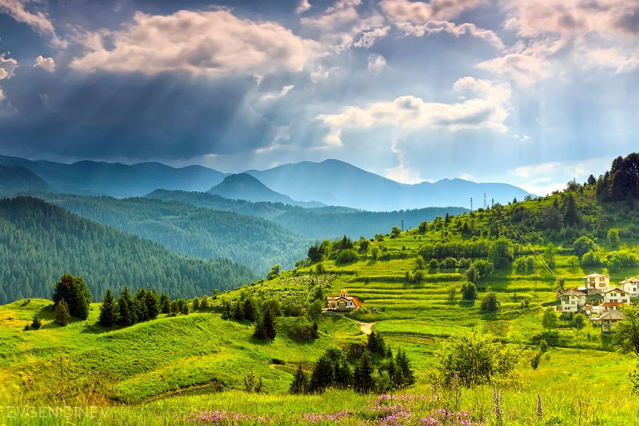 The Bulgarian mountains as seen through the lens of Evgeni ...