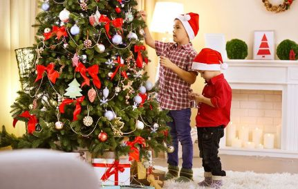 10 ideas for Christmas tree decoration